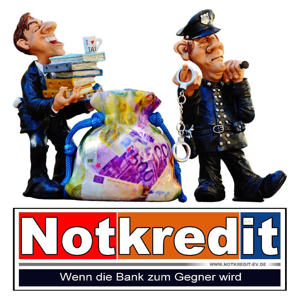 Notkredit eV - Wenn die Bank zum Gegner wird
