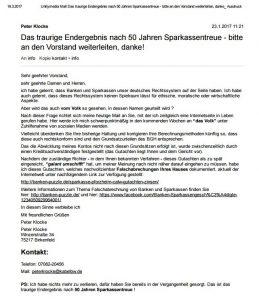 Mail an Sparkasse-Pforzheim-Calw